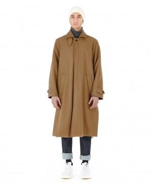 Manteau drap