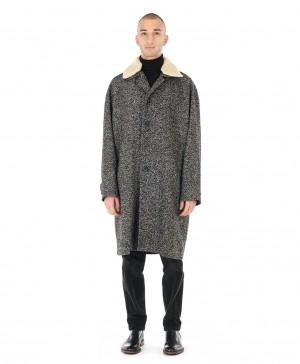 Manteau tweed souple