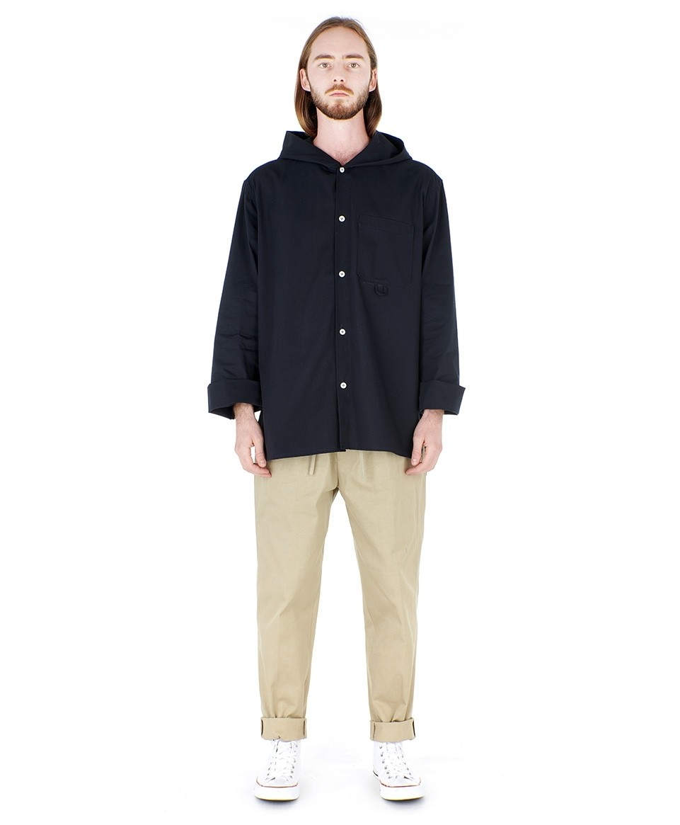 Sur chemise à capuche
