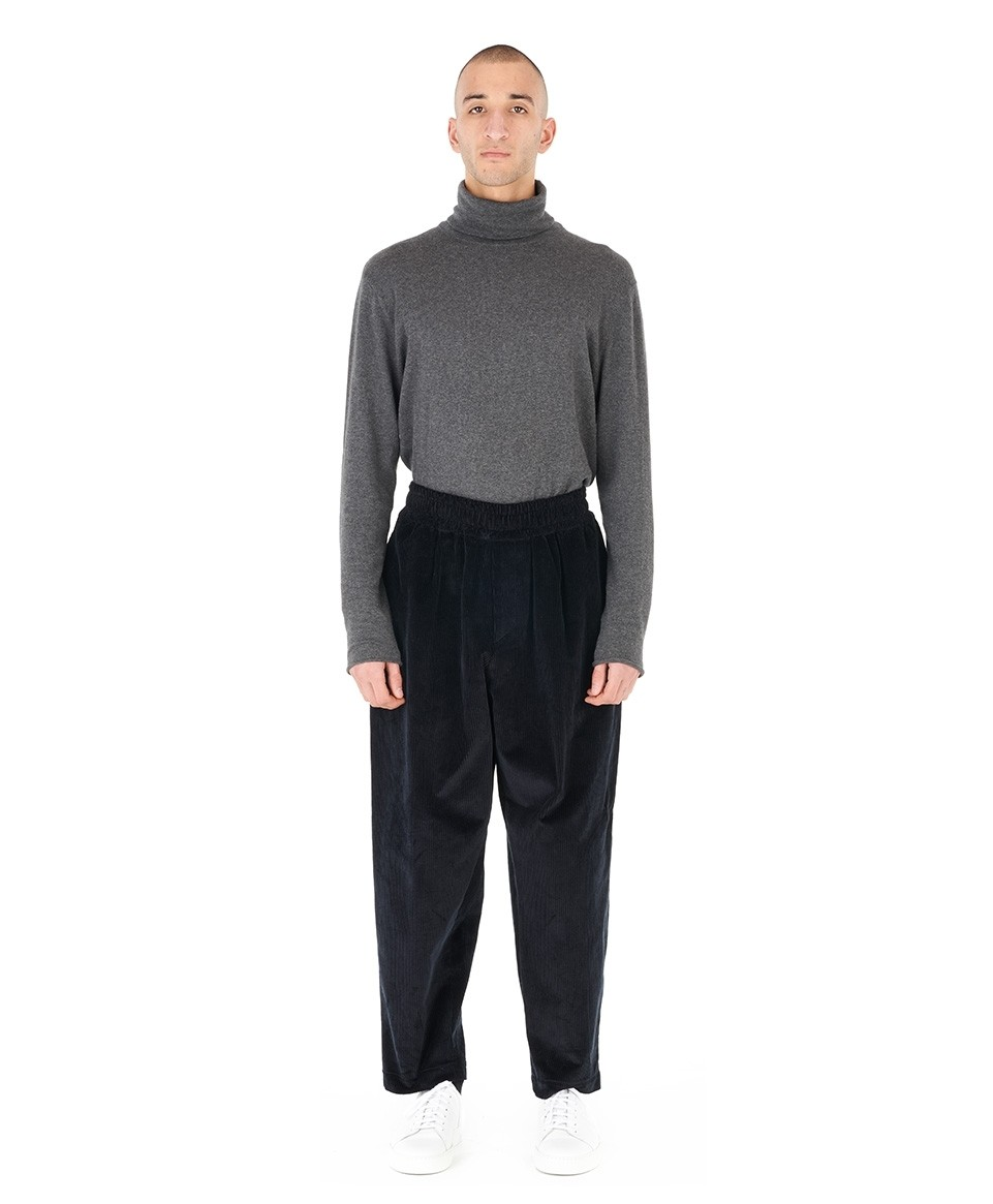 Pantalon velours oversized