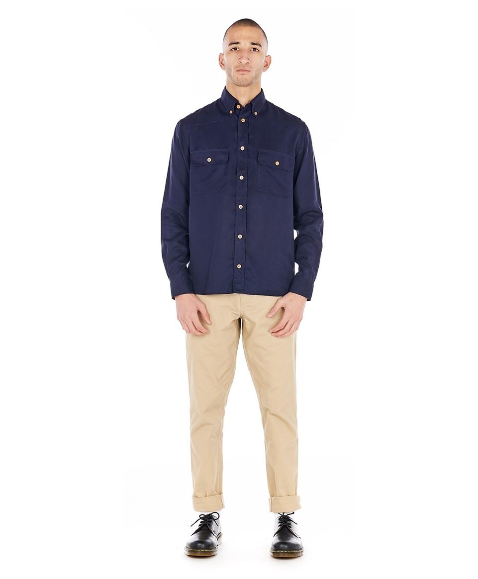 Sur-chemise droite