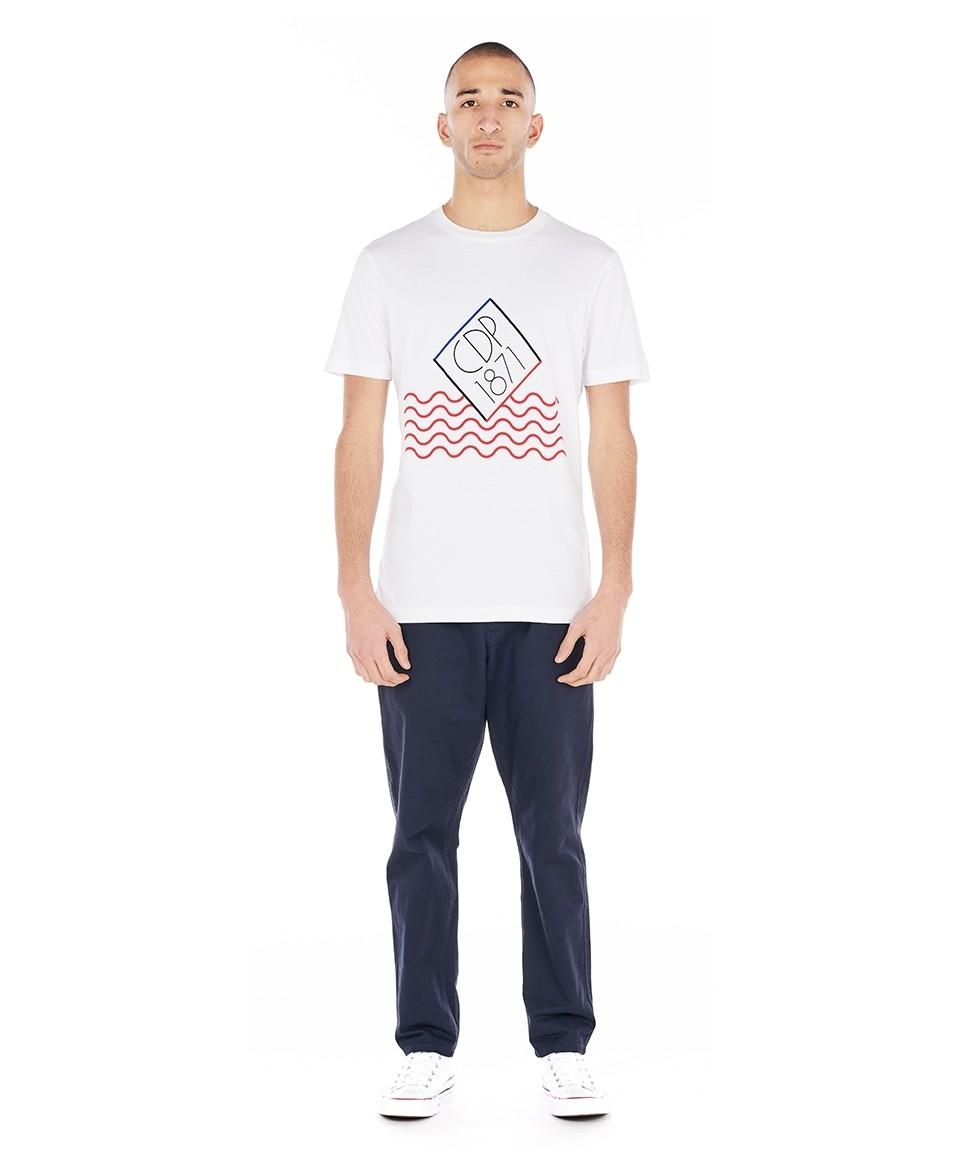 Tee-shirt imprimé marinière