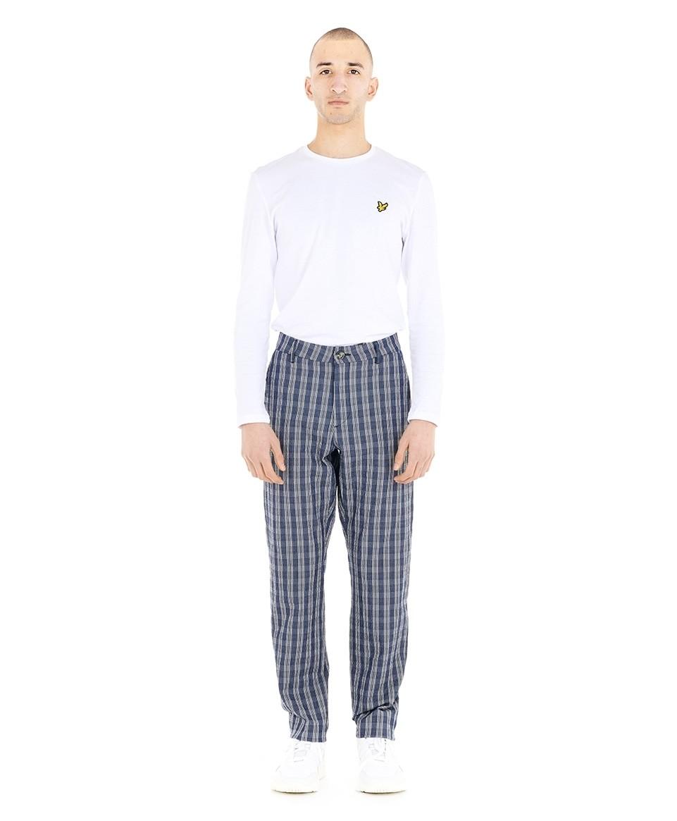 Pantalon droit imprimé