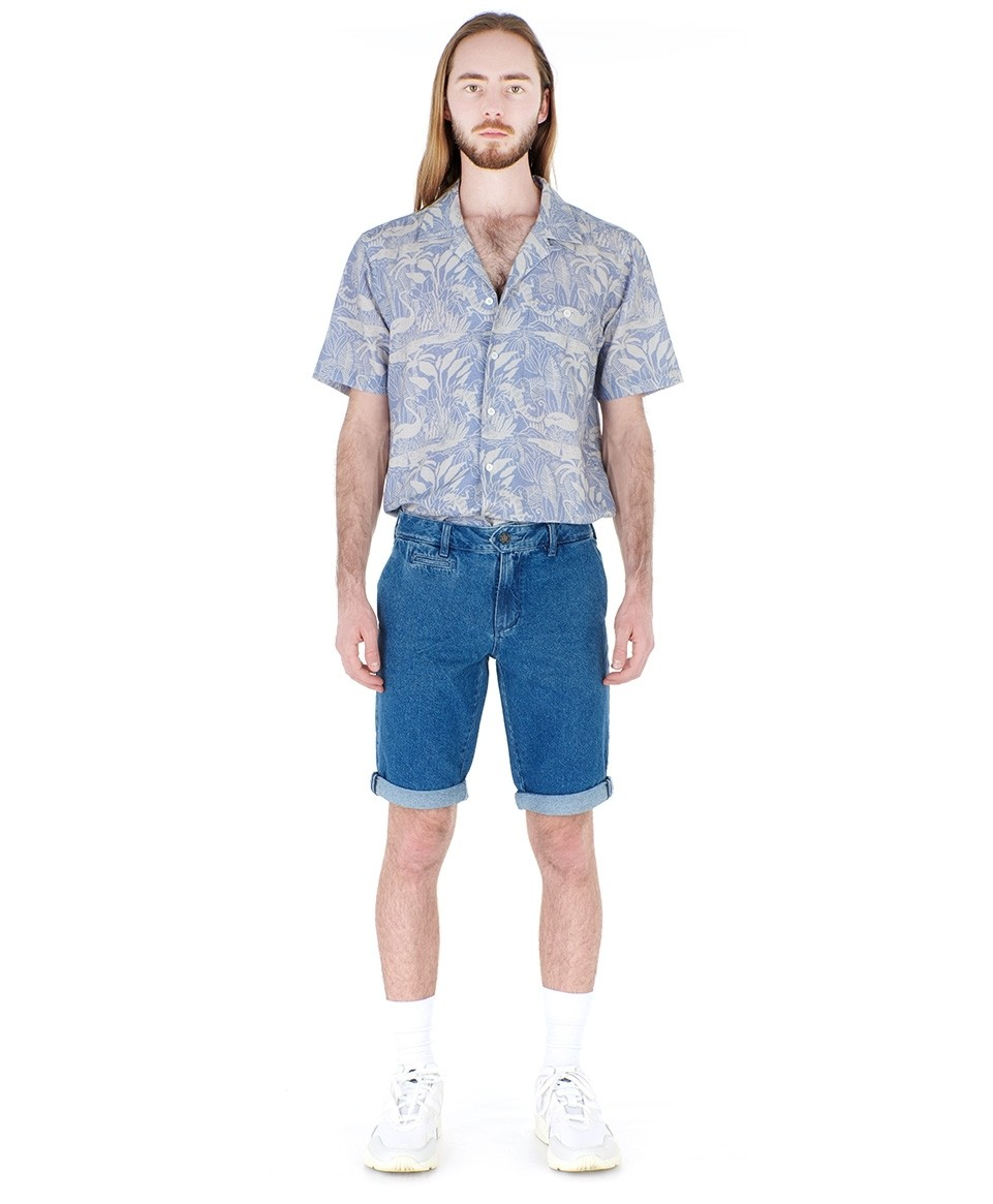 Short chino jean