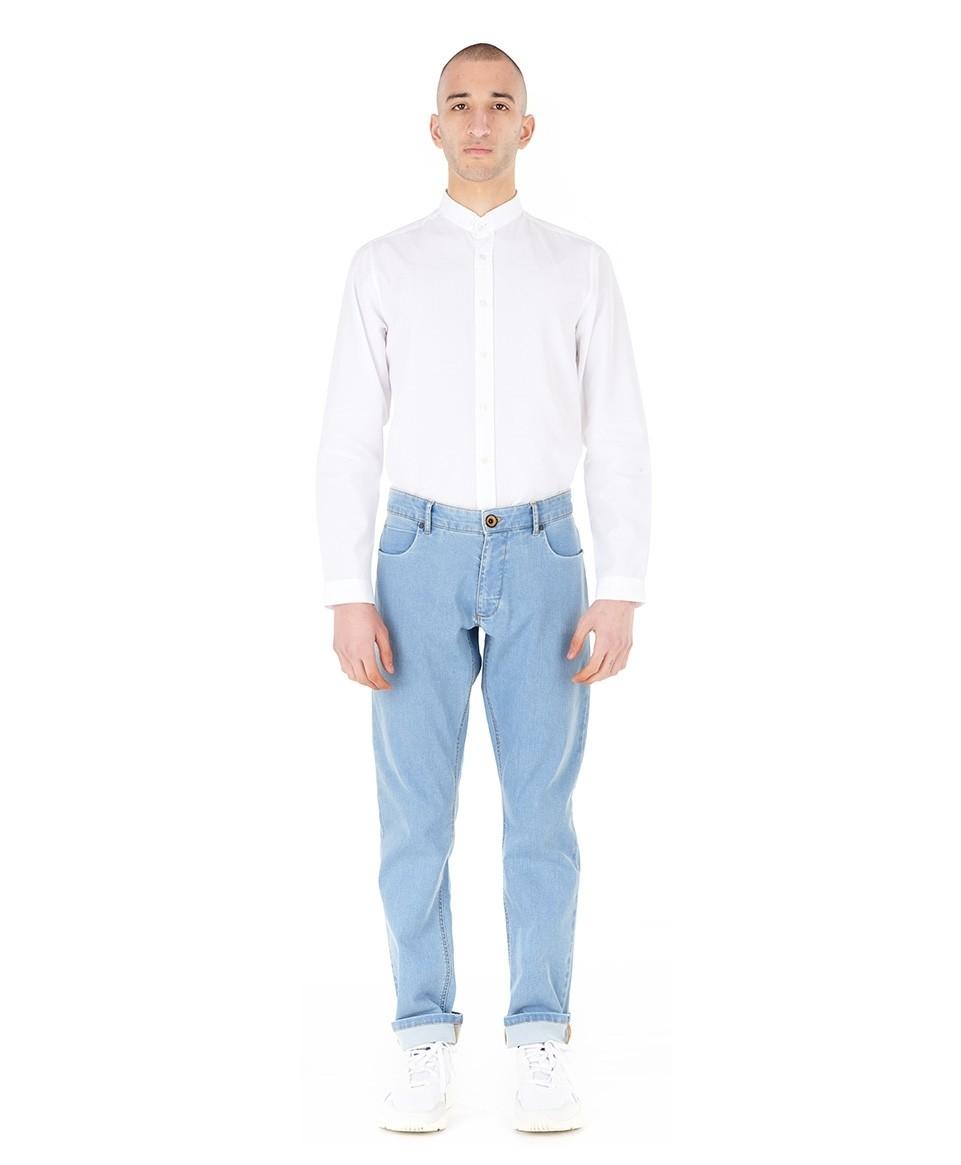Jean droit coton japonais