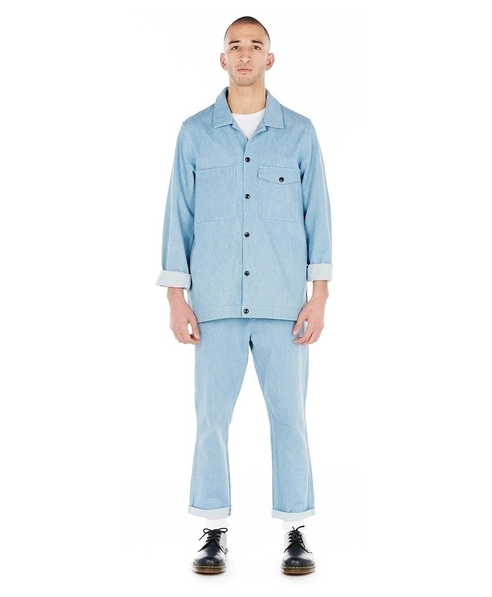 Veste sur-chemise en jean