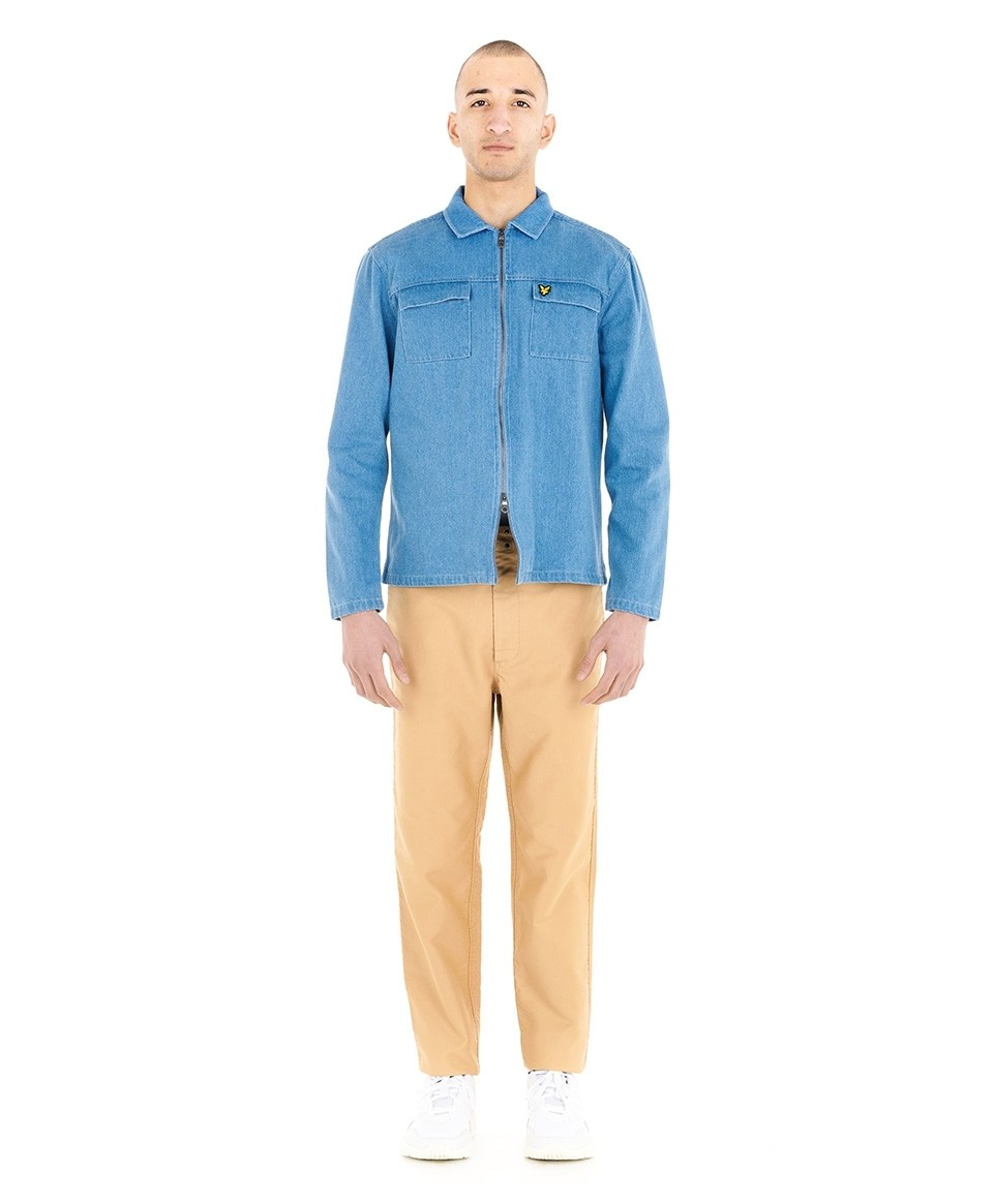 Veste chemise en jean