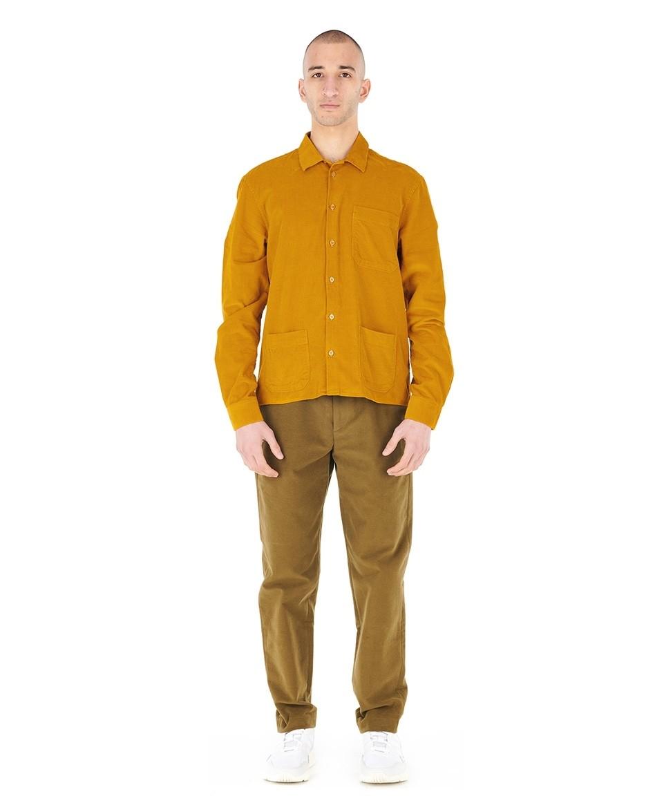 Sur-chemise corduroy
