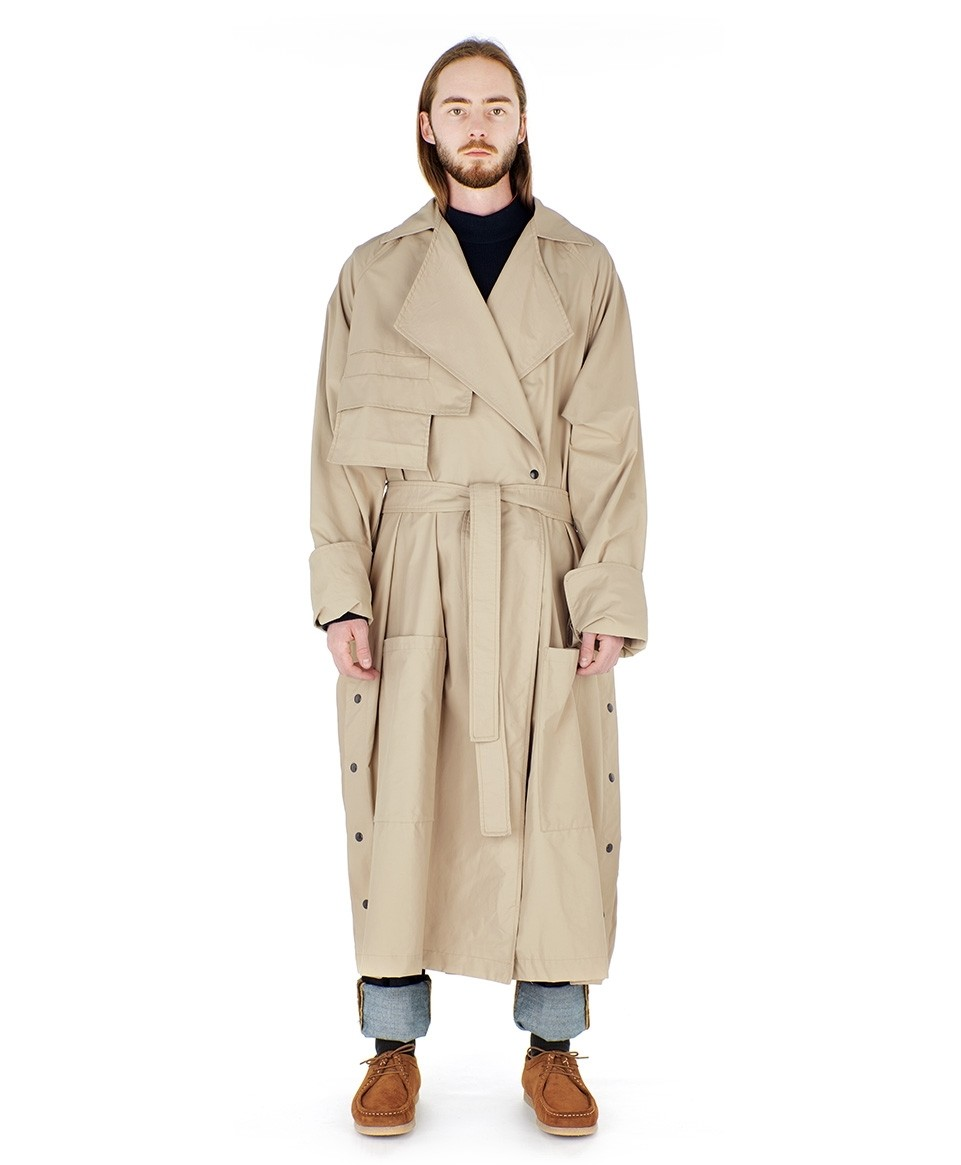 Trench oversized