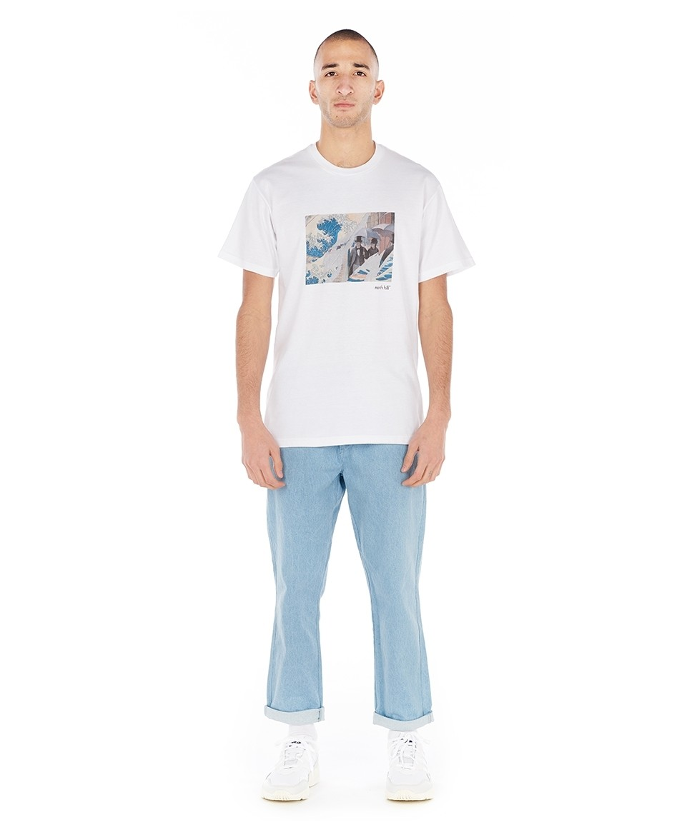 Tee-shirt manches courtes imprimé