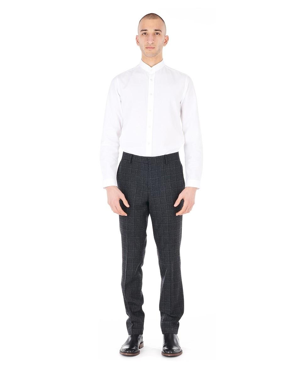 Pantalon flanelle carreaux