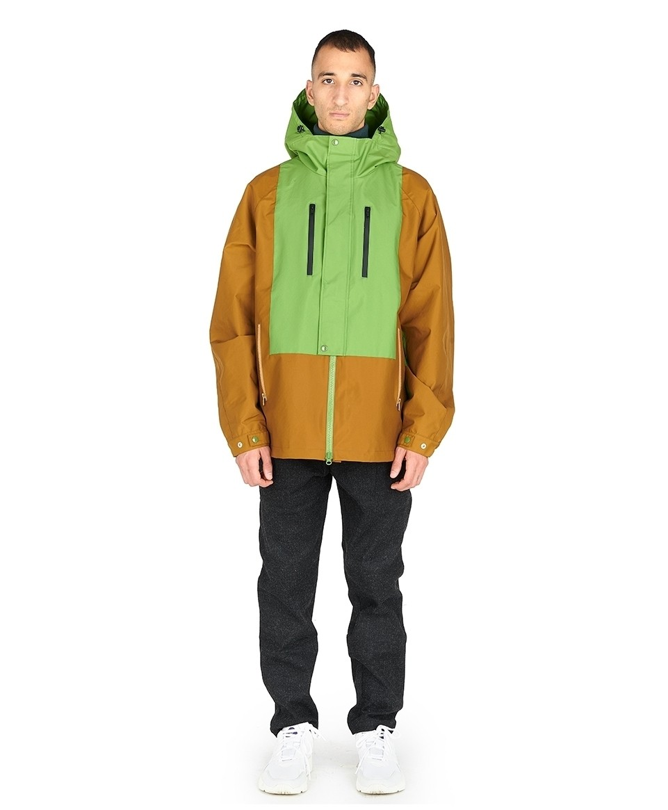 Parka bi-color